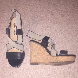 Splendid Wedge Sandals 7.5